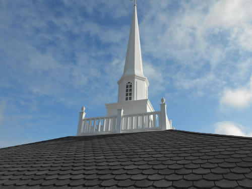 Union Baptist Church, Virginia Beach Virginia. Asphalt Shingles, TPO single-ply membrane and metal cornice work (14)