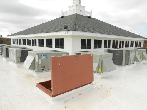 Union Baptist Church, Virginia Beach Virginia. Asphalt Shingles, TPO single-ply membrane and metal cornice work (26)